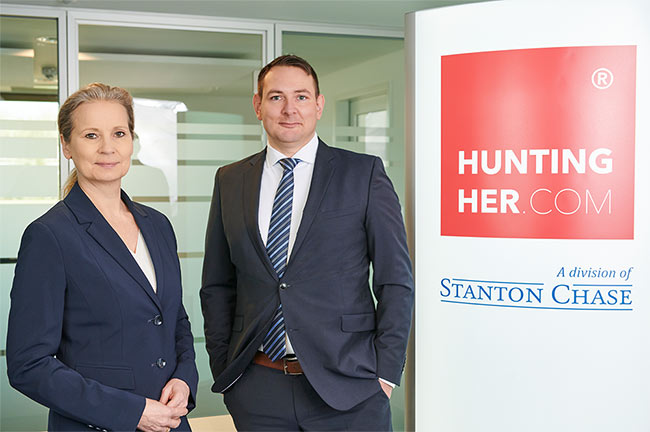 Frauen-Headhunter: Hunting/Her-Managing Partner Regina Lindner und Christian Boehnke